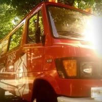 Bild des Juso-Kampagnenfahrzeugs