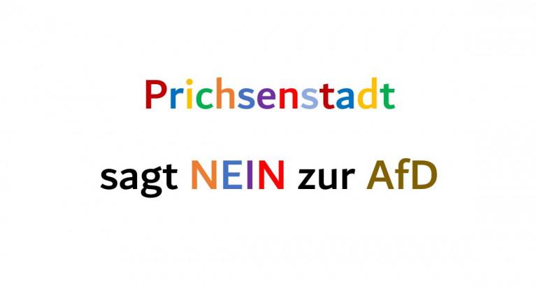 Prichsenstadt sagt NEIN zur AfD